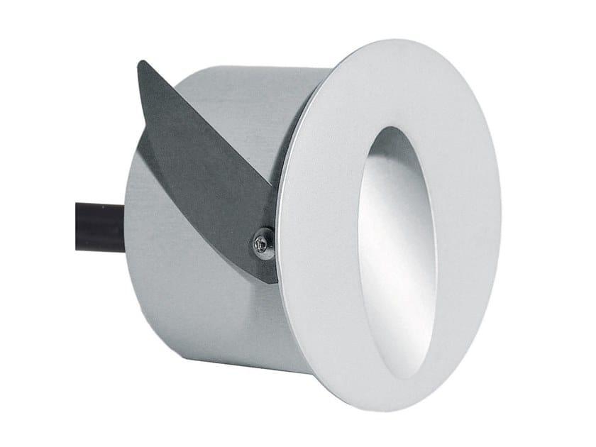 Segnapasso a LED a parete in alluminio per esterni ECLIPS R by Aldabra