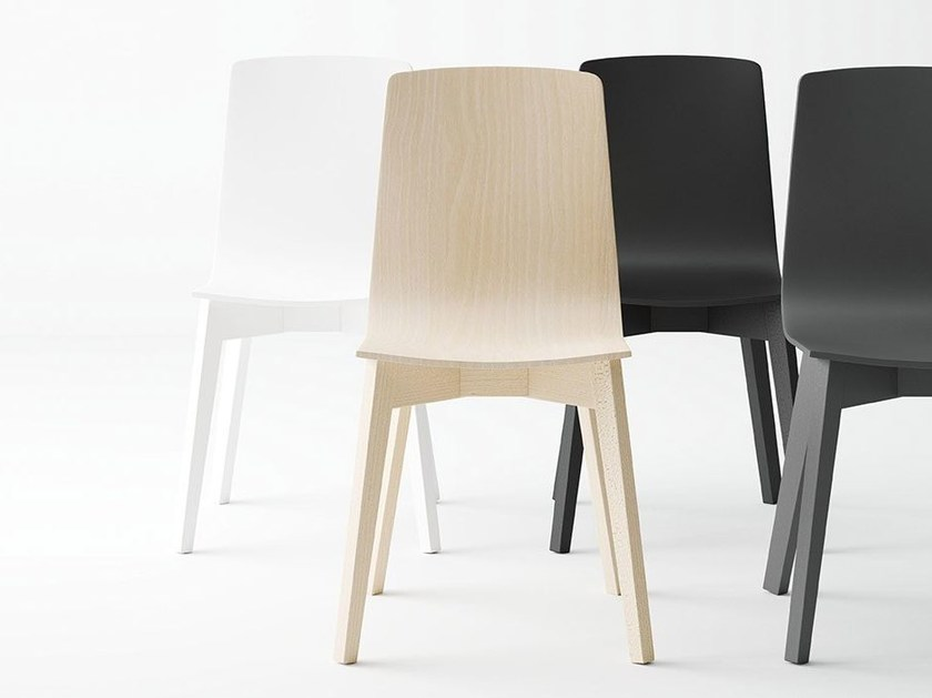 Lacquered chair ECLIPSE   Chair by CANCIO