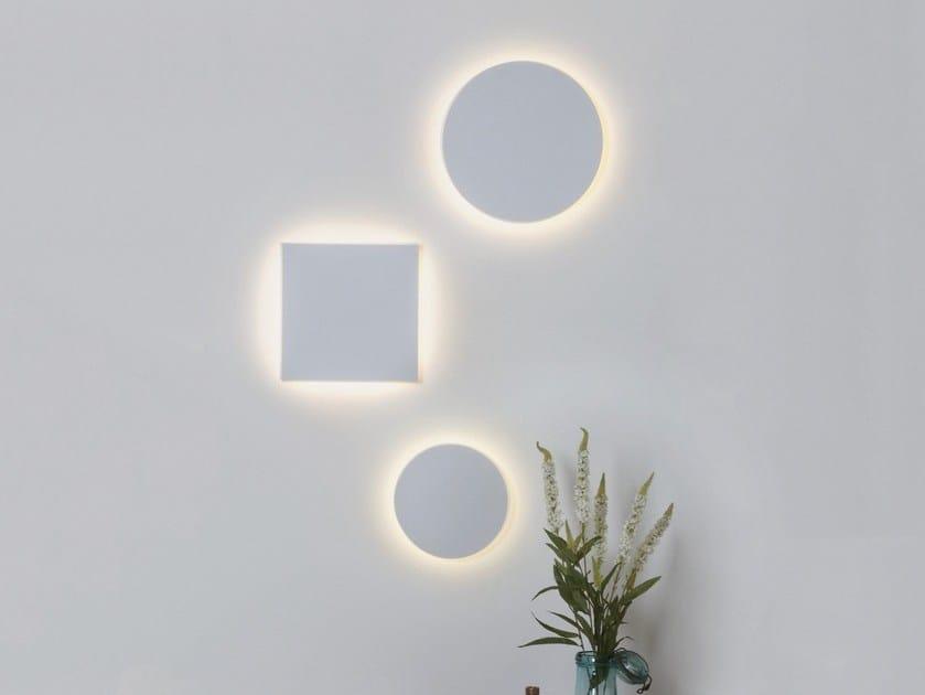 Astro Indiretta In Lampada Gesso Da Lighting Luce Parete Led Square A Eclipse qGUVpMSz