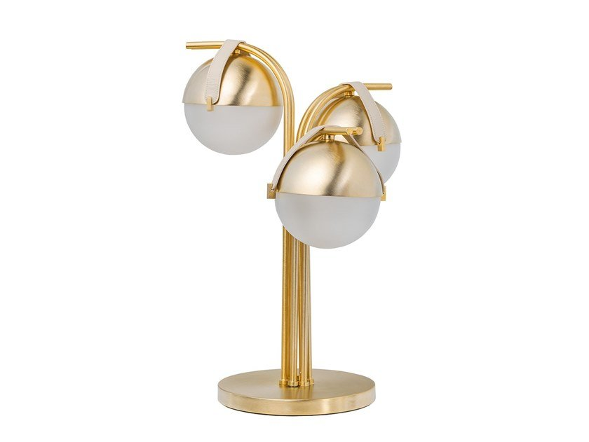 Metal table lamp ECLIPSE | Table lamp by Turri