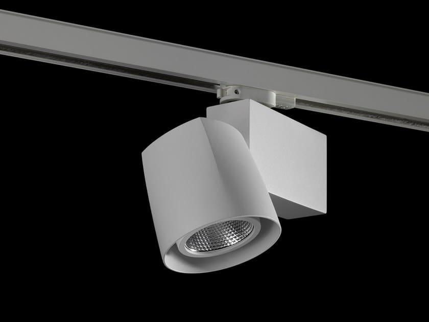 Illuminazione a binario a LED in alluminio verniciato a polvere ECLIPSO by LUNOO