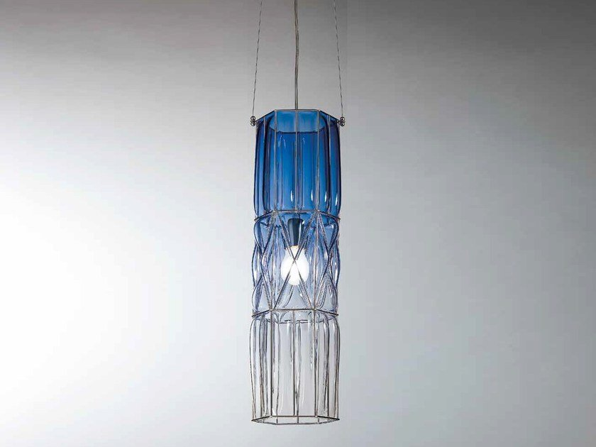 Murano glass pendant lamp ECLISSI RS 192 by Siru