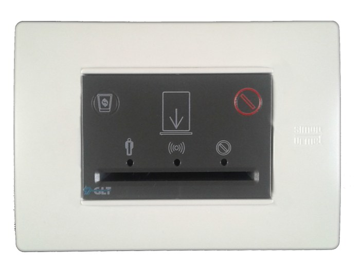 Electronic card lock for hotels ECO 1048/315 by GLT