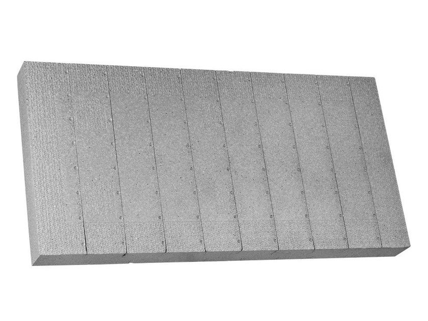 EPS thermal insulation panel ECO DUR G031 by Isolconfort