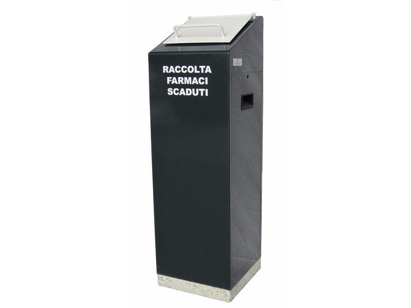 Metal Expired medicine bin ECO FARMACO EASY by A.U.ESSE