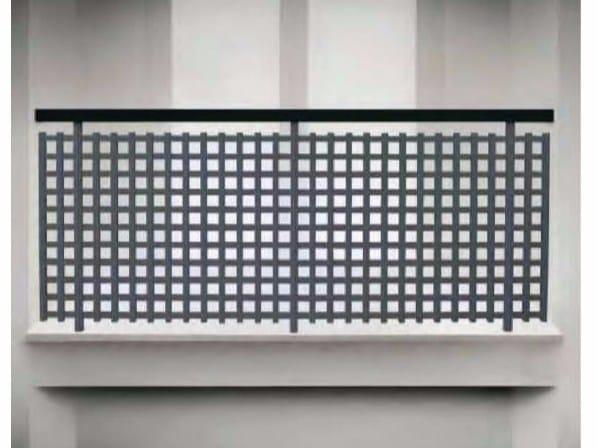 PVC balustrade ECO GRID by Siamesi