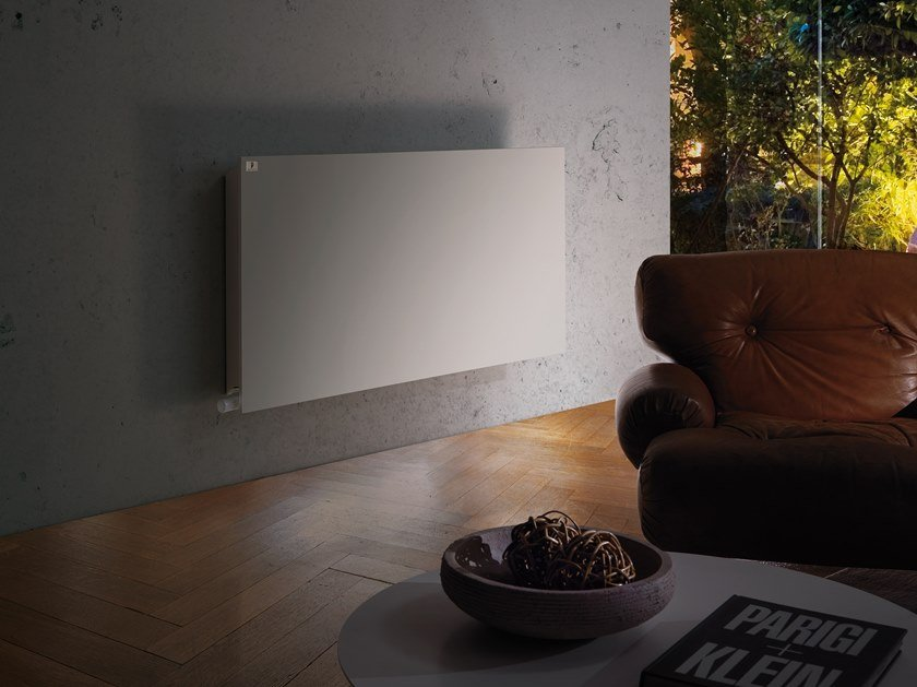 Hot-water wall-mounted decorative radiator ECO HEAT by DELTACALOR