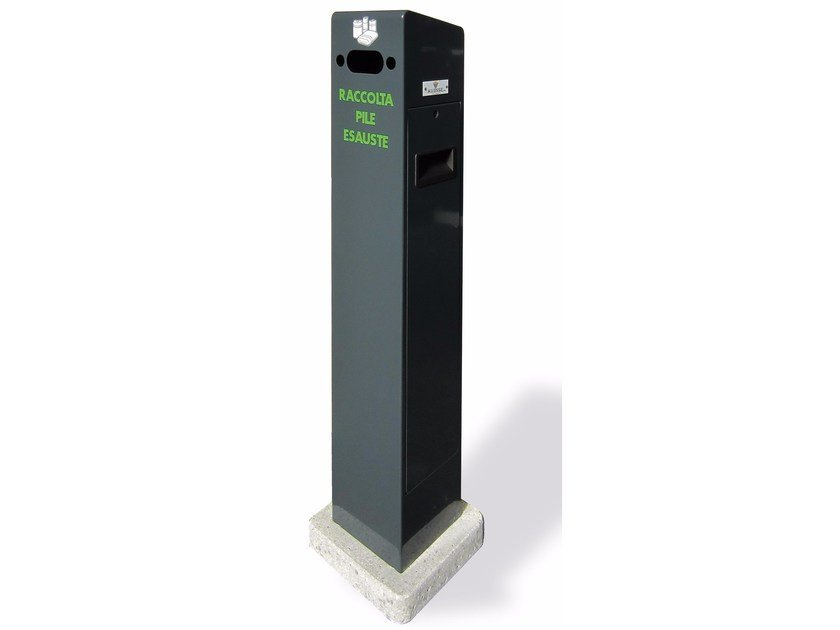 Cement waste battery bin ECO PILE EASY by A.U.ESSE