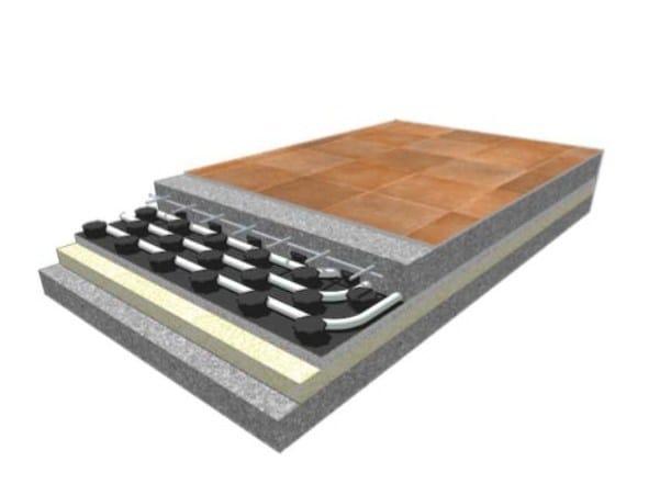 EPS Radiant floor panel ECOFLOOR by Rossato Group