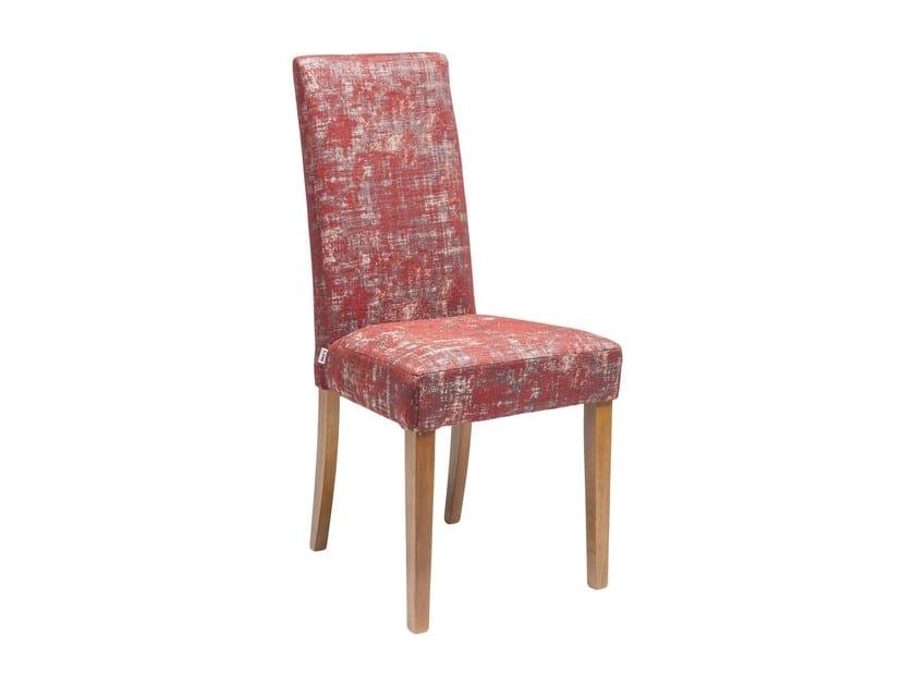 Sedia in tessuto ECONE SLIM FARINA by KARE-DESIGN