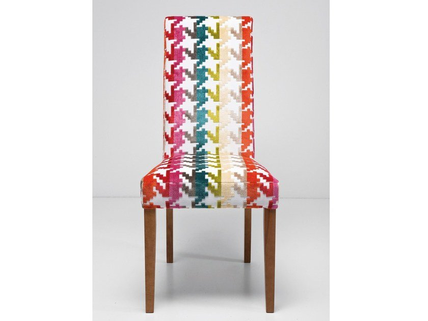 Upholstered fabric chair ECONO SLIM GAME by KARE-DESIGN