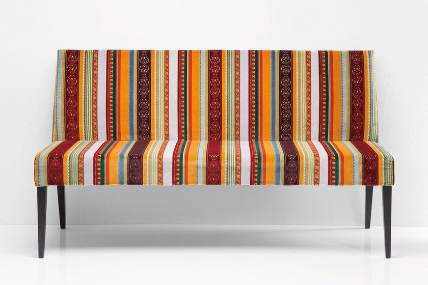 Fabric small sofa ECONO VERY BRITISH | Small sofa by KARE-DESIGN