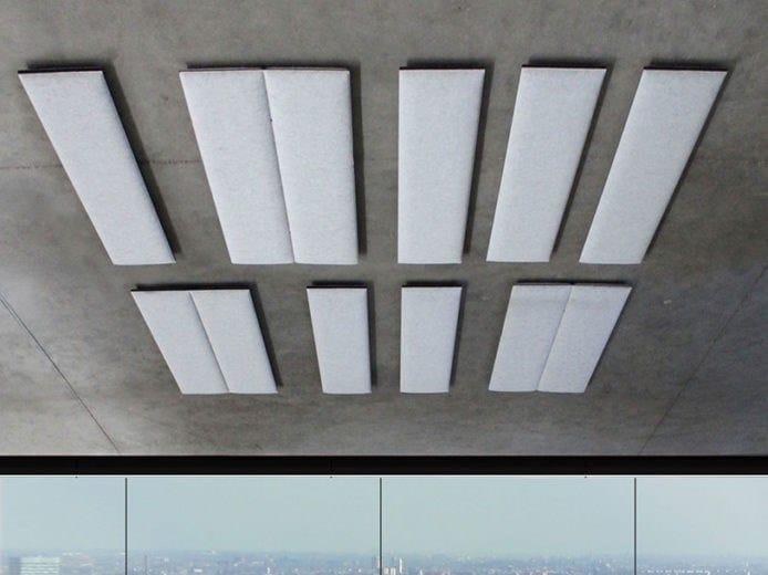 Polyester fibre Decorative acoustic panel ECOSTRONG | Decorative acoustic panel by Slalom