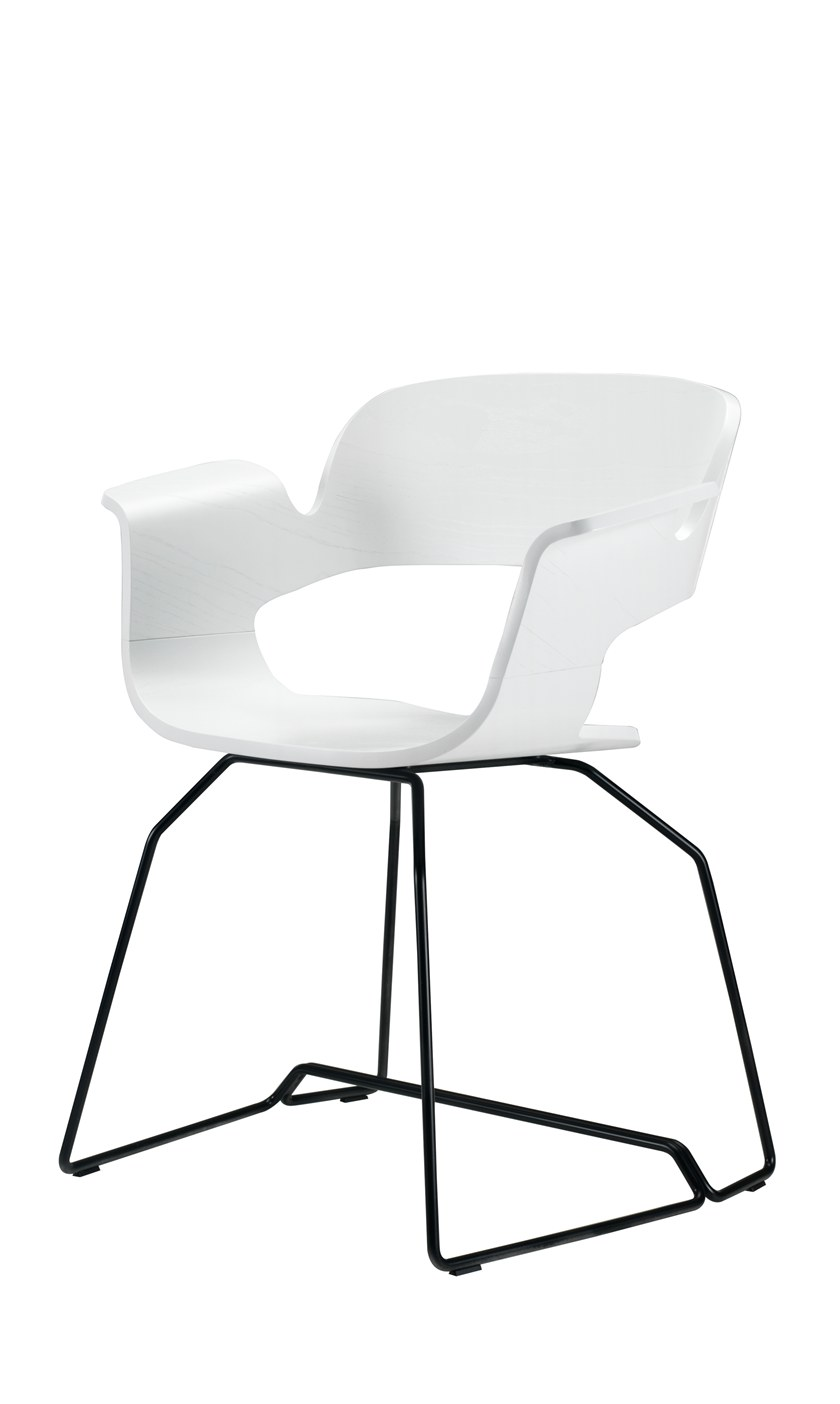 Sled Base Chair With Integrated Cushion ECRIu0027   Sled Base Chair By Albaplus