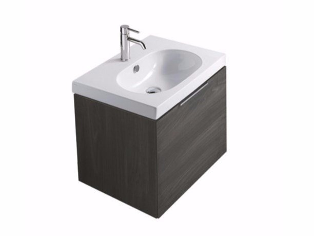 Wall-mounted vanity unit with drawers EDEN - 5281 by GALASSIA