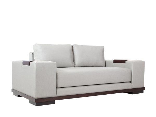 2 seater fabric sofa EDG-E | 2 seater sofa by WARISAN
