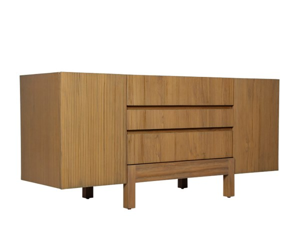 Solid wood sideboard with drawers EDG-E | Sideboard with drawers by WARISAN