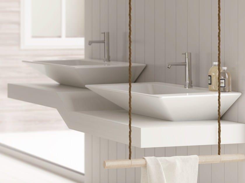 Ceramic washbasin EDGE 69X54 | Washbasin by Alice Ceramica
