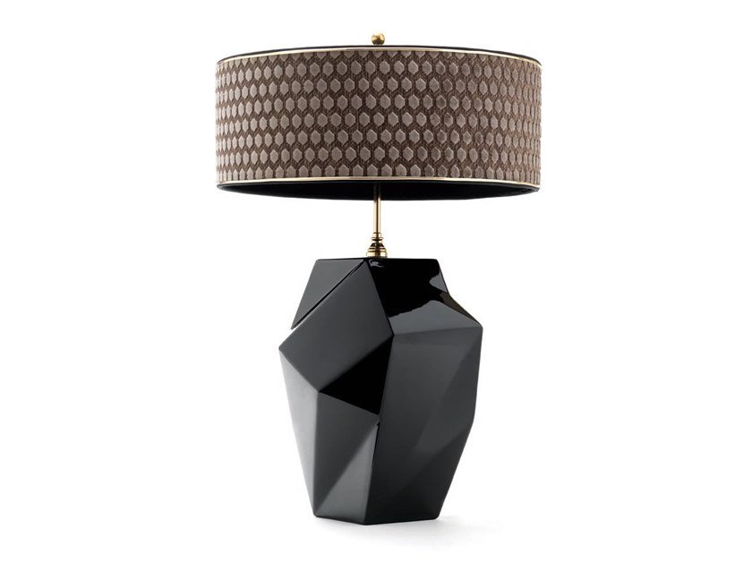 Ceramic table lamp EDGE - 740801 | Table lamp by Grilli