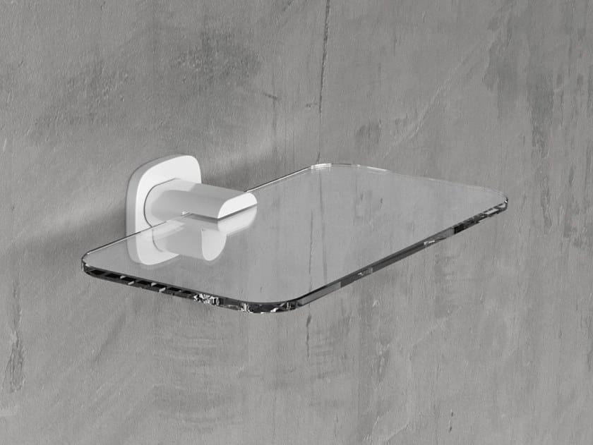 Mensola bagno in vetro EDGE | Mensola bagno by NOVELLINI