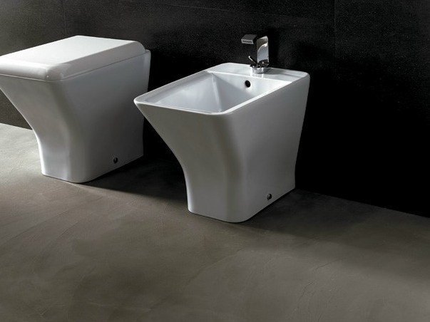 Ceramic bidet EDGE QUADRA | Bidet by Alice Ceramica