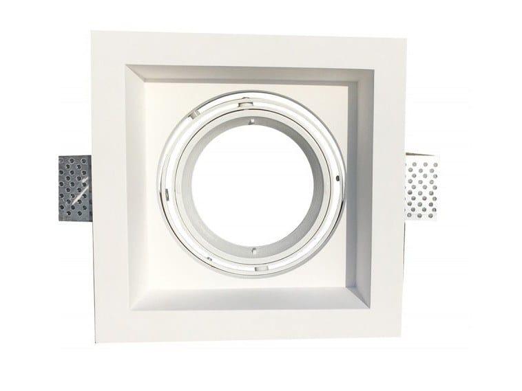 Ceiling Built-in plaster Spotlight fixture EDGE by GESSO