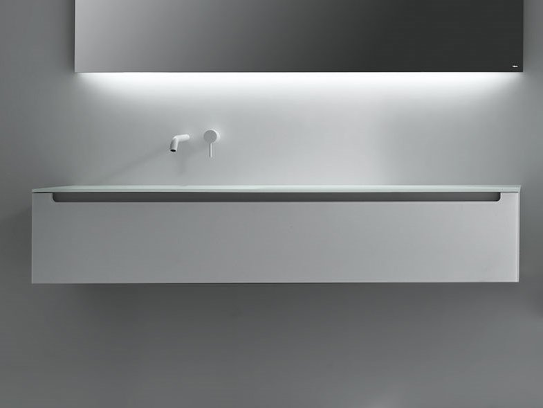 EDGE | Mobile lavabo in vetro