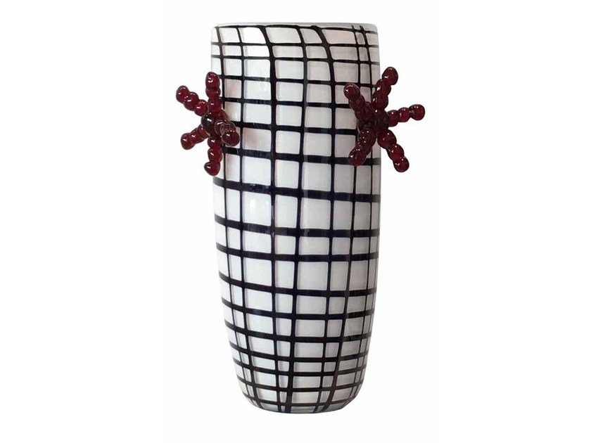 Murano glass vase EDIE'60 by Purho
