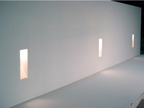 Wall-mounted steplight EDISON by GESSO