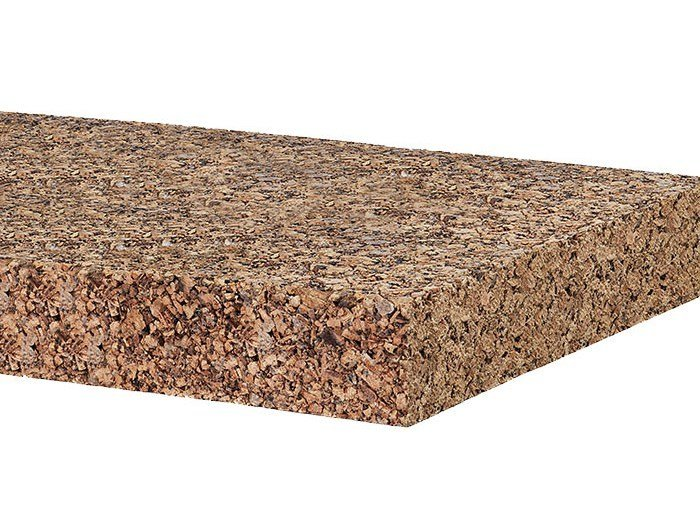 Cork Natural insulating felt and panel for sustainable building EDICORK 180 by EDILANA