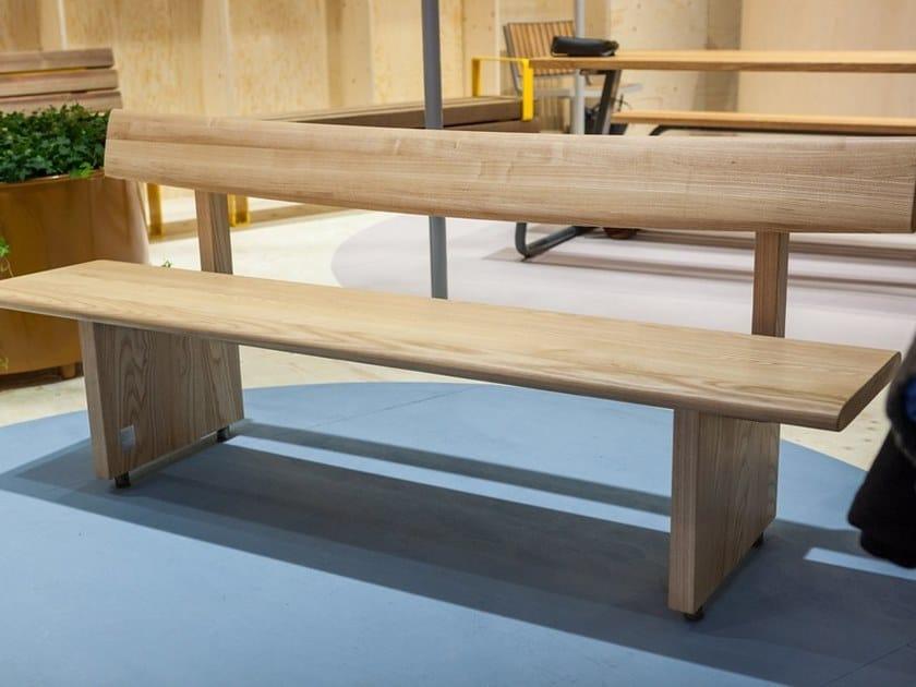 EDO | Panchina in legno massello