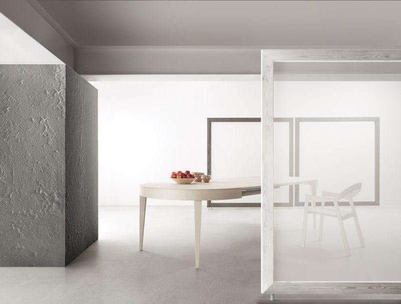 Tavolo allungabile rotondo in legno EDO | Tavolo rotondo - Bauline