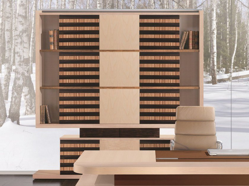 Freestanding bookcase EDOC | Bookcase by ARTOM by Ultom