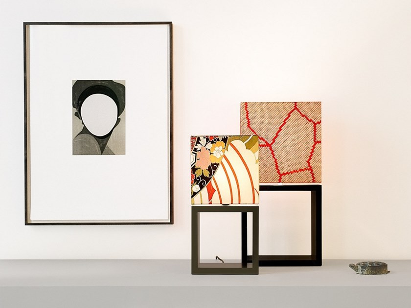 Silk table lamp EDS_LITTLE & BIG by filumen