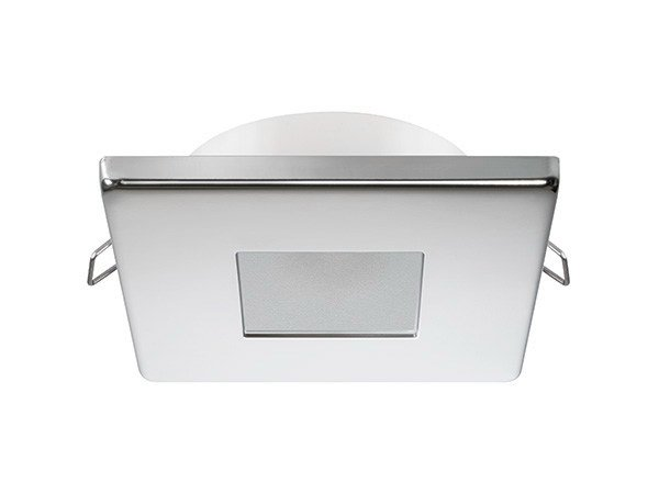Ceiling recessed stainless steel spotlight EDWIN C 2W - IP40 by Quicklighting