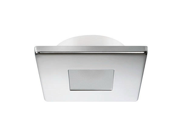 Ceiling recessed stainless steel spotlight EDWIN C 2W - IP66 by Quicklighting
