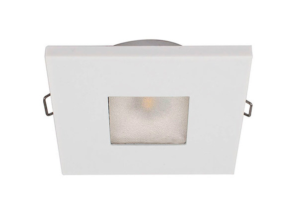 Ceiling recessed polycarbonate spotlight EDWIN N 2W - IP40 by Quicklighting