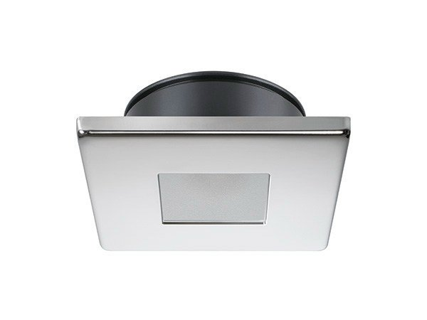 Ceiling recessed stainless steel spotlight EDWIN V 4W - IP66 by Quicklighting