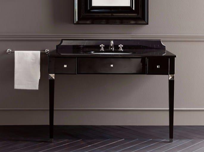 Mobile lavabo in marmo con cassetti EDYTH by BATH&BATH