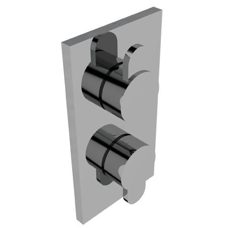 2 hole thermostatic shower mixer EFFE | Thermostatic shower mixer by Signorini