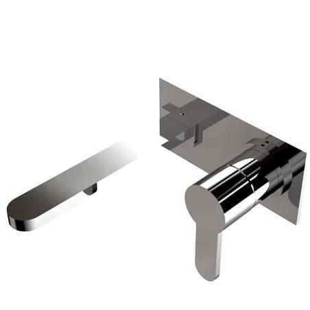 2 hole wall-mounted washbasin mixer EFFE | Wall-mounted washbasin mixer by Signorini