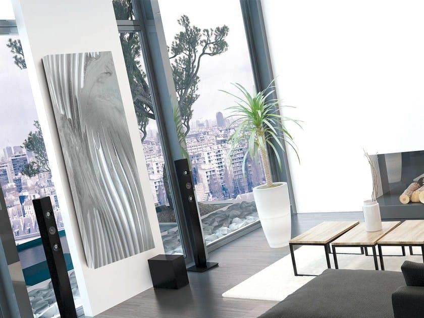 Radiatore / termoarredo in alluminio TERMOARREDO EFFETTO RILIEVO by Termoarredo Design