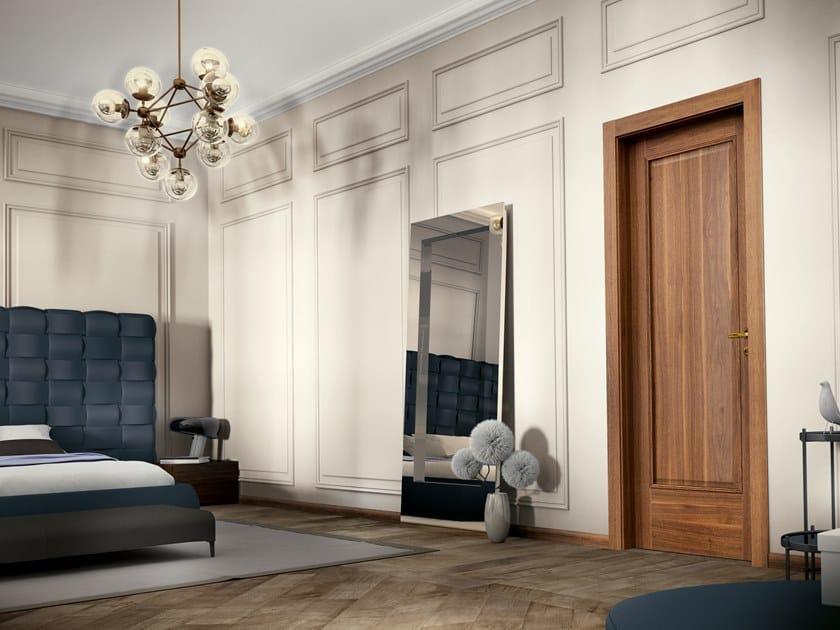 Contemporary style hinged wooden door EFFIGIES 41 NOCE CANALETTO by GD DORIGO