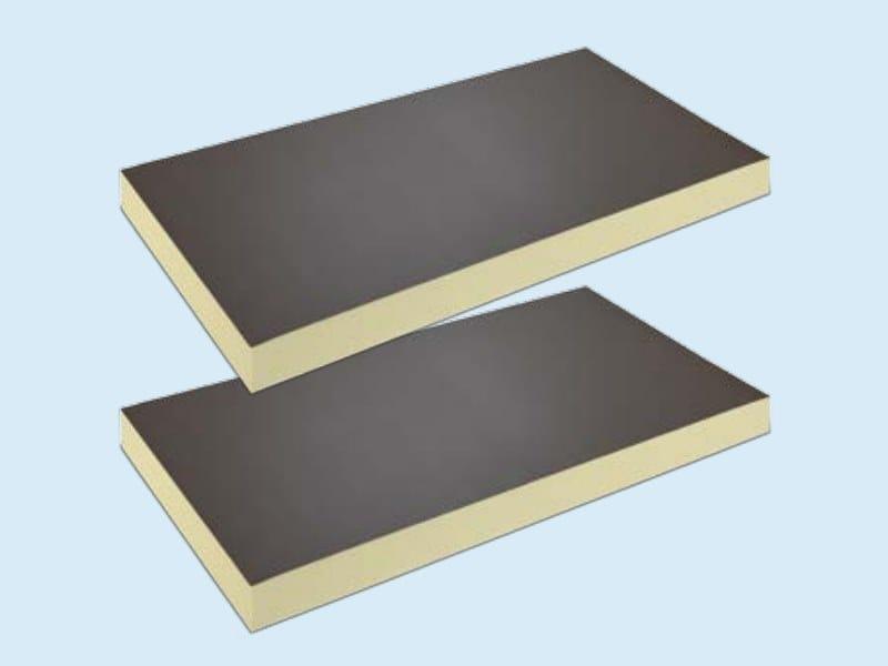 Polyurethane thermal insulation panel EFYOS PU by Efyos by SOPREMA