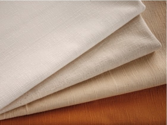 Solid-color washable cotton fabric EGEO by FRIGERIO