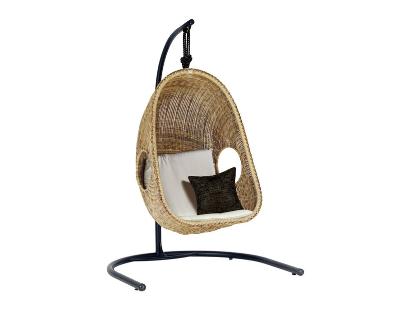 Garden hanging chair EGG | Garden hanging chair by 7OCEANS DESIGNS