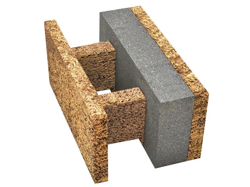 Blocco da tamponamento in legno-cemento EGH 33/14 by Legnobloc
