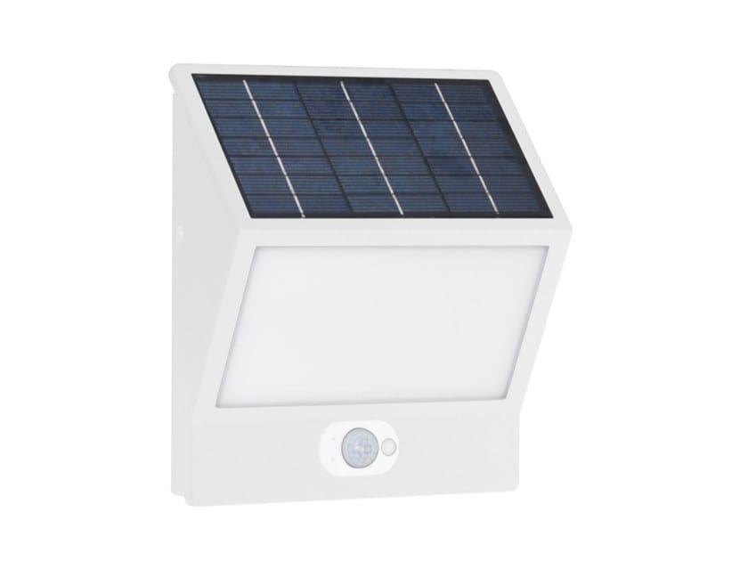 Lampada da parete per esterno ad energia solare in alluminio EGNA by BENEITO FAURE