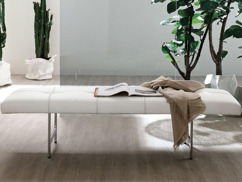 Upholstered bench EGO by ALIVAR