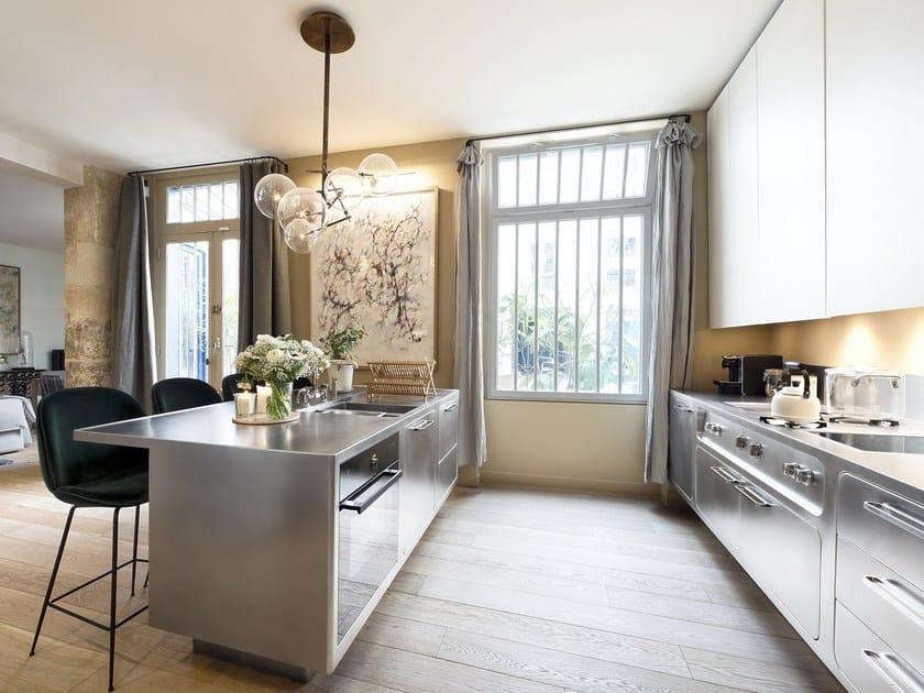 Cocina de acero inoxidable para uso profesional EGO By ABIMIS diseño ...